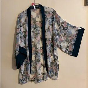 New tropical kimono
